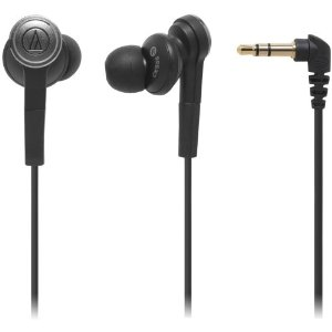 Audio-Technica Solid Bass In-Ear Headphone (ATH-CKS55BK)