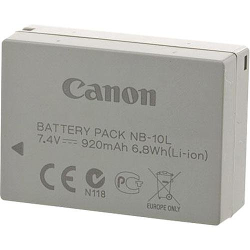 Canon NB-10L Rechargeable Lithium-Ion Battery for Select Canon P
